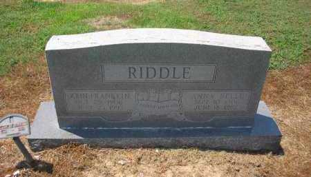 RIDDLE, JOHN FRANKLIN - Lawrence County, Arkansas | JOHN FRANKLIN RIDDLE - Arkansas Gravestone Photos