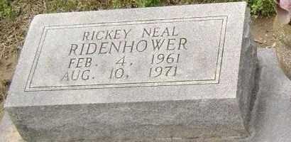 RIDENHOWER, RICKEY NEAL - Lawrence County, Arkansas | RICKEY NEAL RIDENHOWER - Arkansas Gravestone Photos