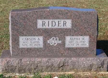 LITTLE RIDER, ALPHA MAE - Lawrence County, Arkansas | ALPHA MAE LITTLE RIDER - Arkansas Gravestone Photos