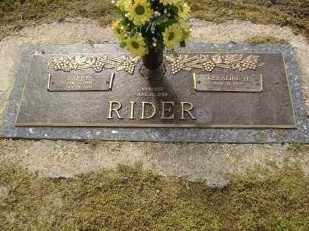 RIDER, DARRELL - Lawrence County, Arkansas   DARRELL RIDER - Arkansas Gravestone Photos