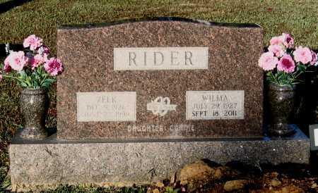 """RIDER, EZEKIEL """"ZEEK"""" - Lawrence County, Arkansas   EZEKIEL """"ZEEK"""" RIDER - Arkansas Gravestone Photos"""