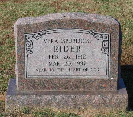 RIDER, VERA LAVINIA - Lawrence County, Arkansas | VERA LAVINIA RIDER - Arkansas Gravestone Photos