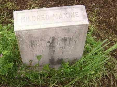 RILEY, MILDRED MAXINE - Lawrence County, Arkansas | MILDRED MAXINE RILEY - Arkansas Gravestone Photos
