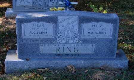RING, ARLAN D. - Lawrence County, Arkansas   ARLAN D. RING - Arkansas Gravestone Photos