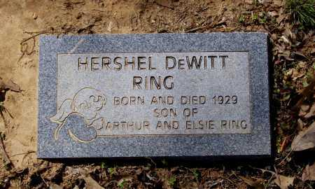 RING, HERSHEL DEWITT - Lawrence County, Arkansas | HERSHEL DEWITT RING - Arkansas Gravestone Photos