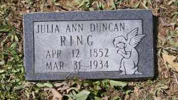 RING, JULIA ANN - Lawrence County, Arkansas | JULIA ANN RING - Arkansas Gravestone Photos