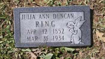 RING, JULIA ANN - Lawrence County, Arkansas   JULIA ANN RING - Arkansas Gravestone Photos