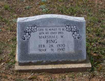 RING, MARSHALL WARREN - Lawrence County, Arkansas   MARSHALL WARREN RING - Arkansas Gravestone Photos