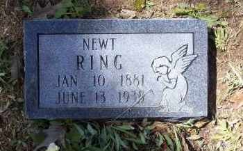 "RING, THOMAS NEWTON ""NEWT"" - Lawrence County, Arkansas | THOMAS NEWTON ""NEWT"" RING - Arkansas Gravestone Photos"