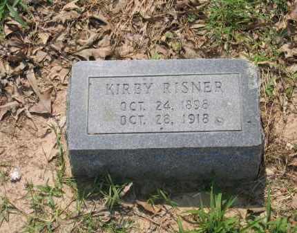 RISNER, KIRBY - Lawrence County, Arkansas   KIRBY RISNER - Arkansas Gravestone Photos