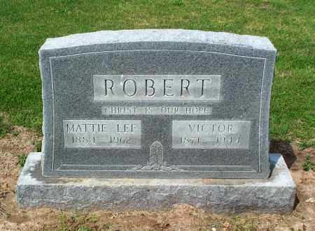 ROBERT, MATTIE LEE - Lawrence County, Arkansas | MATTIE LEE ROBERT - Arkansas Gravestone Photos
