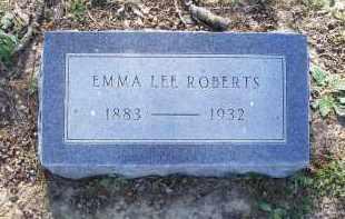 "ROBERTS, EMMA LEE ""SIS"" - Lawrence County, Arkansas | EMMA LEE ""SIS"" ROBERTS - Arkansas Gravestone Photos"
