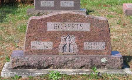ROBERTS, MATHILDE E. - Lawrence County, Arkansas | MATHILDE E. ROBERTS - Arkansas Gravestone Photos