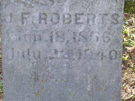 ROBERTS, JOHN F. - Lawrence County, Arkansas | JOHN F. ROBERTS - Arkansas Gravestone Photos