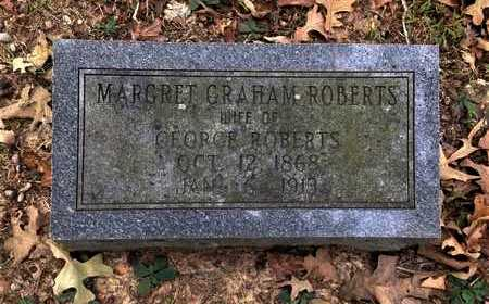 GRAHAM ROBERTS, MARGARET - Lawrence County, Arkansas | MARGARET GRAHAM ROBERTS - Arkansas Gravestone Photos