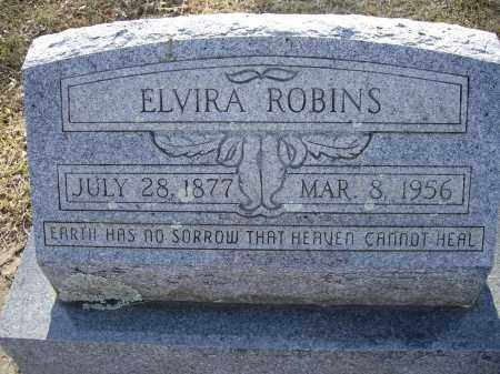 TURNBOW ROBINS, ELVIRA - Lawrence County, Arkansas | ELVIRA TURNBOW ROBINS - Arkansas Gravestone Photos