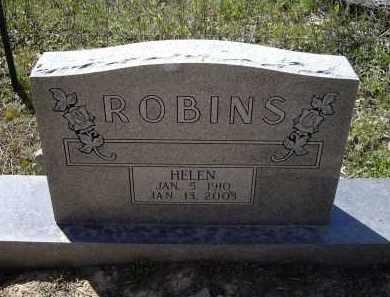ROBINS, HELEN AVO - Lawrence County, Arkansas   HELEN AVO ROBINS - Arkansas Gravestone Photos