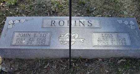 ROBINS, LOIS EVALENA - Lawrence County, Arkansas | LOIS EVALENA ROBINS - Arkansas Gravestone Photos