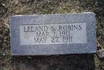 ROBINS, LELAND S. - Lawrence County, Arkansas   LELAND S. ROBINS - Arkansas Gravestone Photos