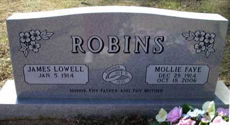 ROBINS, MOLLIE FAYE - Lawrence County, Arkansas | MOLLIE FAYE ROBINS - Arkansas Gravestone Photos