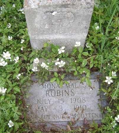 ROBINS, MONA MAE - Lawrence County, Arkansas | MONA MAE ROBINS - Arkansas Gravestone Photos