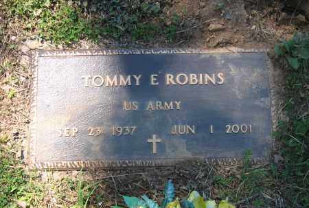 ROBINS (VETERAN), TOMMY E. - Lawrence County, Arkansas   TOMMY E. ROBINS (VETERAN) - Arkansas Gravestone Photos