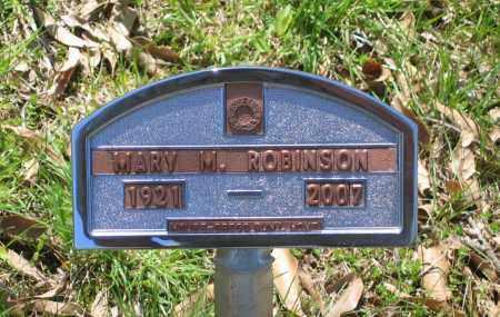 ROBINSON, MARY MELBAREEN - Lawrence County, Arkansas | MARY MELBAREEN ROBINSON - Arkansas Gravestone Photos
