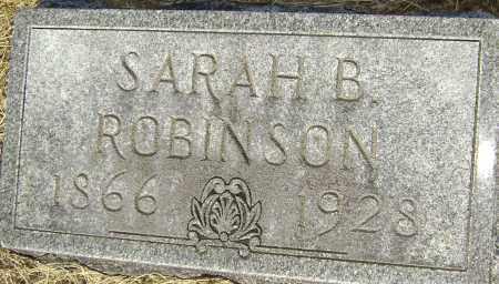 ROBINSON, SARAH B. - Lawrence County, Arkansas | SARAH B. ROBINSON - Arkansas Gravestone Photos