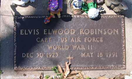 ROBINSON (VETERAN WWII), ELVIS ELWOOD - Lawrence County, Arkansas   ELVIS ELWOOD ROBINSON (VETERAN WWII) - Arkansas Gravestone Photos