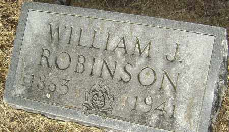 ROBINSON, MD, WILLIAM J. - Lawrence County, Arkansas | WILLIAM J. ROBINSON, MD - Arkansas Gravestone Photos