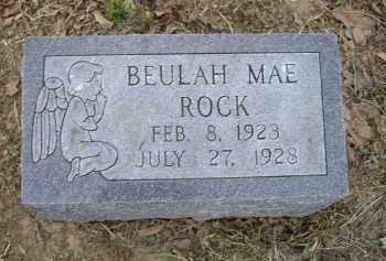 ROCK, BEULAH MAE - Lawrence County, Arkansas   BEULAH MAE ROCK - Arkansas Gravestone Photos
