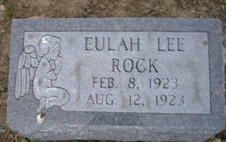ROCK, EULAH LEE - Lawrence County, Arkansas | EULAH LEE ROCK - Arkansas Gravestone Photos