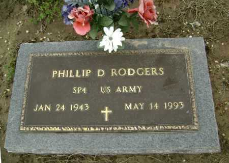 RODGERS  (VETERAN), PHILLIP D. - Lawrence County, Arkansas | PHILLIP D. RODGERS  (VETERAN) - Arkansas Gravestone Photos