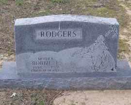 RODGERS, BOBBIE L. - Lawrence County, Arkansas | BOBBIE L. RODGERS - Arkansas Gravestone Photos