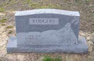 RODGERS, LOWELL H. - Lawrence County, Arkansas   LOWELL H. RODGERS - Arkansas Gravestone Photos