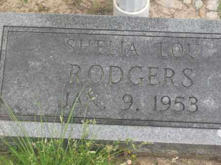RODGERS, SHELIA LOU - Lawrence County, Arkansas | SHELIA LOU RODGERS - Arkansas Gravestone Photos