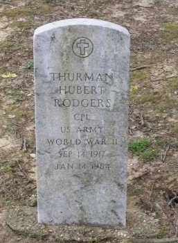 RODGERS (VETERAN WWII), THURMAN HUBERT - Lawrence County, Arkansas | THURMAN HUBERT RODGERS (VETERAN WWII) - Arkansas Gravestone Photos
