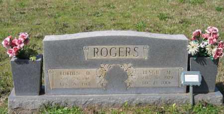 ROGERS, BORDEN OMER - Lawrence County, Arkansas | BORDEN OMER ROGERS - Arkansas Gravestone Photos