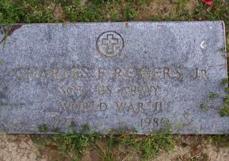 ROGERS, JR. (VETERAN WWII), CHARLES F. - Lawrence County, Arkansas | CHARLES F. ROGERS, JR. (VETERAN WWII) - Arkansas Gravestone Photos