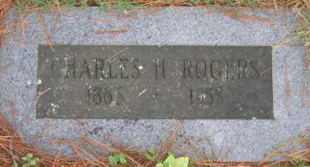 ROGERS, CHARLES H. - Lawrence County, Arkansas | CHARLES H. ROGERS - Arkansas Gravestone Photos