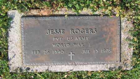 ROGERS (VETERAN WWI), JESSE - Lawrence County, Arkansas | JESSE ROGERS (VETERAN WWI) - Arkansas Gravestone Photos