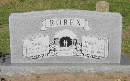 ROREX, MAMIE JANE - Lawrence County, Arkansas | MAMIE JANE ROREX - Arkansas Gravestone Photos