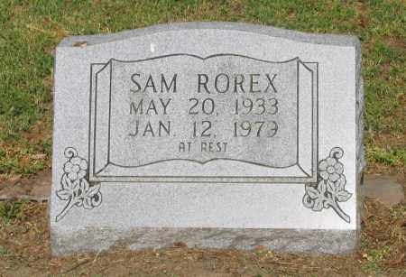 ROREX, SAM - Lawrence County, Arkansas | SAM ROREX - Arkansas Gravestone Photos