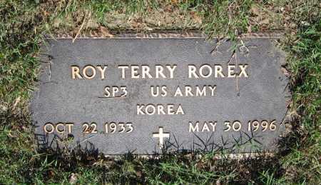 ROREX (VETERAN KOR), ROY TERRY - Lawrence County, Arkansas | ROY TERRY ROREX (VETERAN KOR) - Arkansas Gravestone Photos