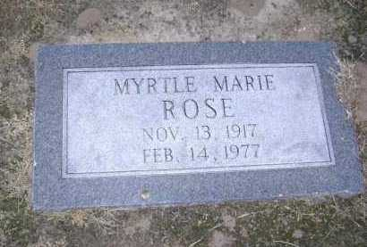 ROSE, MYRTLE MARIE - Lawrence County, Arkansas | MYRTLE MARIE ROSE - Arkansas Gravestone Photos