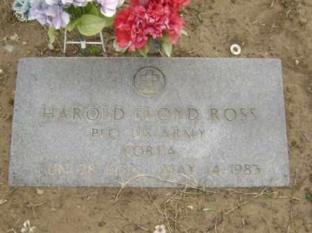 ROSS  (VETERAN KOR), HAROLD FLOYD - Lawrence County, Arkansas | HAROLD FLOYD ROSS  (VETERAN KOR) - Arkansas Gravestone Photos
