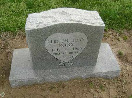 ROSS, CLINTON JOHN - Lawrence County, Arkansas | CLINTON JOHN ROSS - Arkansas Gravestone Photos