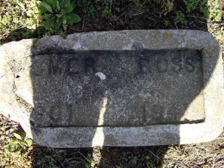 ROSS, HOMER WESTLEY - Lawrence County, Arkansas | HOMER WESTLEY ROSS - Arkansas Gravestone Photos