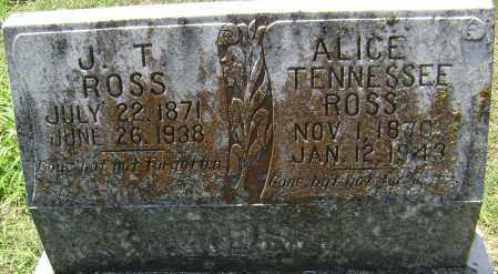 ROSS, JOHN T. - Lawrence County, Arkansas | JOHN T. ROSS - Arkansas Gravestone Photos