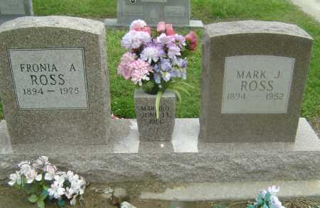ROSS, FRONIA ANN - Lawrence County, Arkansas | FRONIA ANN ROSS - Arkansas Gravestone Photos